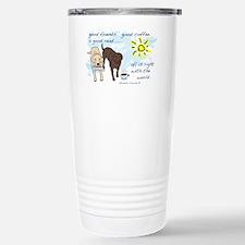 good friends good coffee Stainless Steel Travel Mu