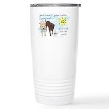 good friends good coffee Travel Mug