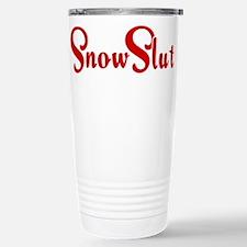 Snow Slut Stainless Steel Travel Mug
