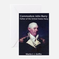 Commodore John Barry Greeting Card
