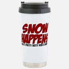 SNOW HAPPENS Travel Mug