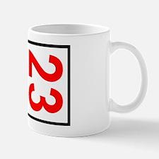 23 Autocross Number Plates Mug