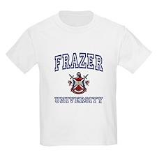 FRAZER University Kids T-Shirt