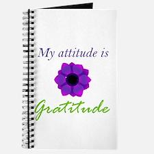 Attitude Is Gratitude Journal