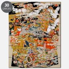 LUXURIOUS ANTIQUE JAPANESE KIMONO FOR FOR I Puzzle