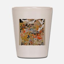 LUXURIOUS ANTIQUE JAPANESE KIMONO FOR F Shot Glass