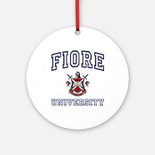 FIORE University Ornament (Round)