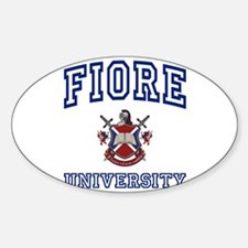 FIORE University Oval Decal