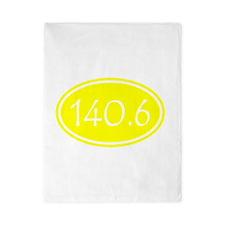 Yellow 140.6 Oval Twin Duvet