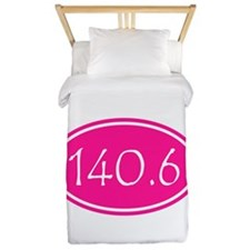 Pink 140.6 Oval Twin Duvet