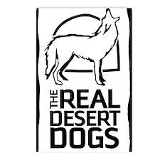 Desert Dog Howling Postcards (Package of 8)