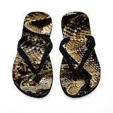 Rattlesnake Flip Flops