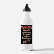 Congratulations Water Bottle