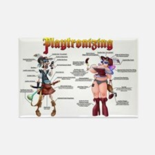 Playtronized Duo Rectangle Magnet