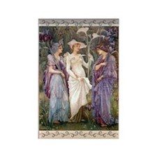 "Walter Crane ""Signs of Spring"" Magnet"
