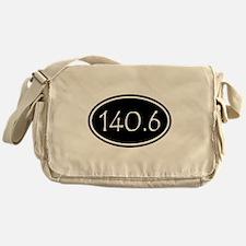 Black 140.6 Oval Messenger Bag