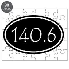Black 140.6 Oval Puzzle