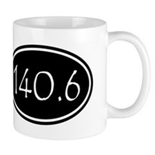 Black 140.6 Oval Mugs