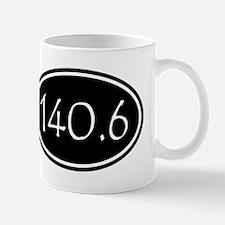 Black 140.6 Oval Mugs