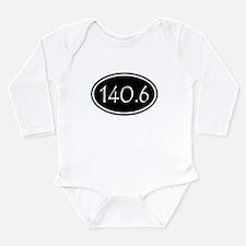Black 140.6 Oval Body Suit