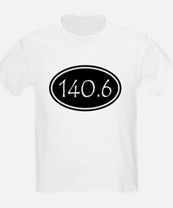Black 140.6 Oval T-Shirt