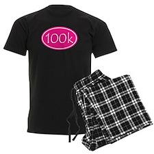Pink 100k Oval Pajamas