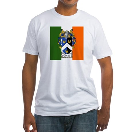 Craig Arms Irish Flag Fitted T-Shirt