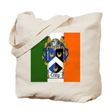 Craig Arms Irish Flag Tote Bag