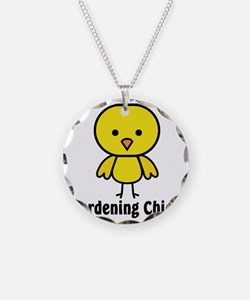 Gardening Chick Necklace