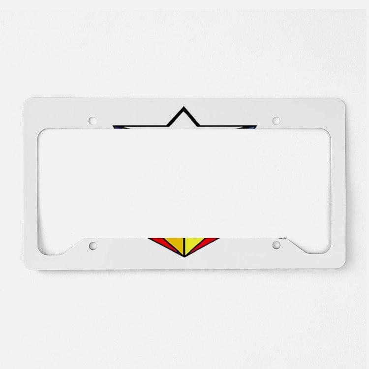 WW starburst License Plate Holder