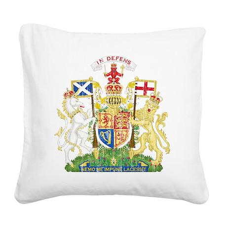 Royalthe United Kingdom Scotl Square Canvas Pillow