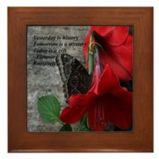 Today is a Gift Framed Tile