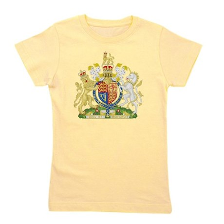Royalthe United Kingdom Coat of Arms Girl's Tee