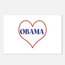 I love Obama Postcards (Package of 8)