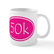 Pink 50k Oval Mugs