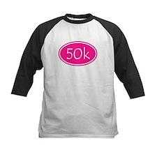 Pink 50k Oval Baseball Jersey