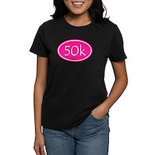 Pink 50k Oval T-Shirt
