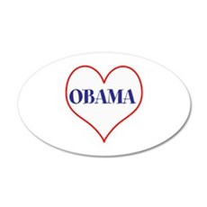I love Obama Wall Decal