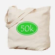 Lime 50k Oval Tote Bag