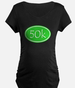 Lime 50k Oval Maternity T-Shirt