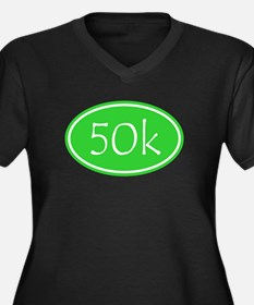 Lime 50k Oval Plus Size T-Shirt