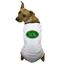 Green 50k Oval Dog T-Shirt
