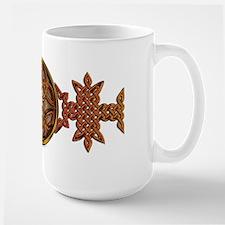 Celtic Knotwork Enamel Mug