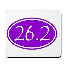 Purple 26.2 Oval Mousepad