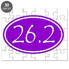 Purple 26.2 Oval Puzzle