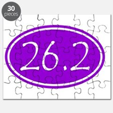 Purple 26.2 Oval Puzzle