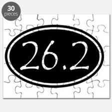 Black 26.2 Oval Puzzle