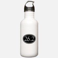 Black 26.2 Oval Water Bottle