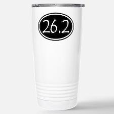 Black 26.2 Oval Travel Mug