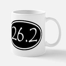 Black 26.2 Oval Mugs